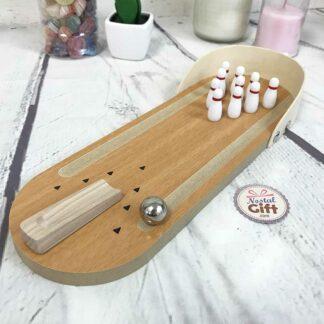 Mini Bowling en bois