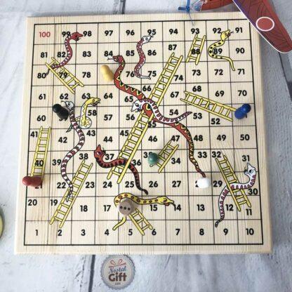 Serpents et échelles - jeu de société