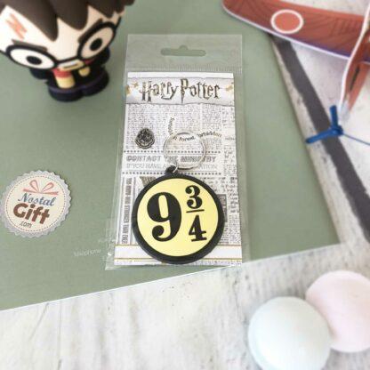 Porte clé emblème 9 3/4 - Harry Potter