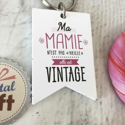 "Tote bag maman noir - ""Maman unique"""