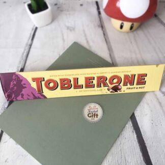 Toblerone fruits secs et noix - Grande version 360g
