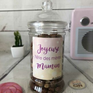 """Bonbonnière maman – """"Joyeuse fête des mères"""" - Chouchou"""