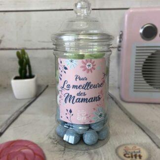 """Bonbonnière maman – """"Pour la meilleure des mamans"""" - Kysmache 300g"""