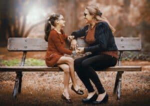 Passer du temps avec maman