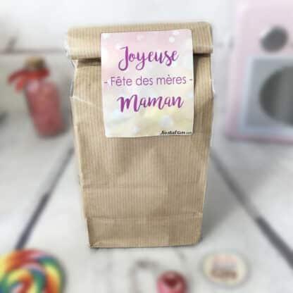 Sachet Bonbon des années 80 - Joyeuses fêtes des mères maman