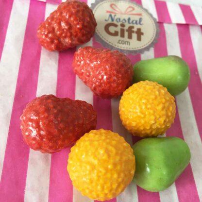Bonbons krema aux fruits x10