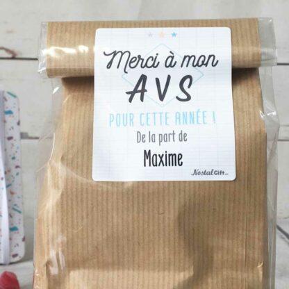 Sachet Bonbon des années 80  personnalisé - Cadeau AVS