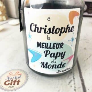 Bougie Jar personnalisée - Meilleur Papy