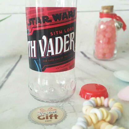 Bouteille d'eau plastique Dark Vador - Star Wars