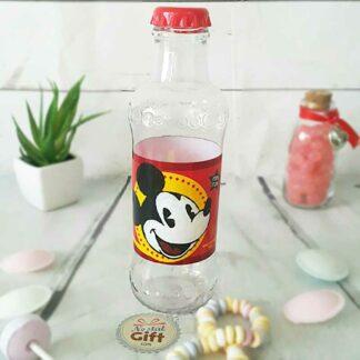 Bouteille d'eau plastique - Mickey