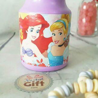 Gourde en plastique Ariel et Cendrillon - Disney
