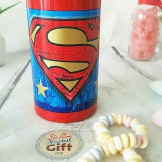 Gourde en métal - Superman