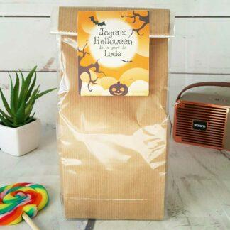 Sachet Bonbon des années 70  personnalisé - Halloween