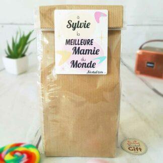 Sachet Bonbon des années 80  personnalisé - Meilleure mamie