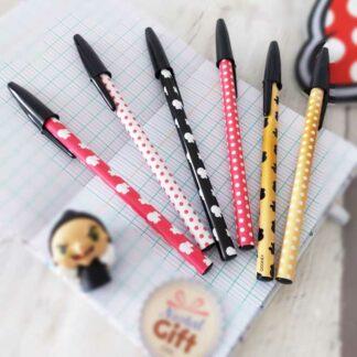Set 6 stylo Minnie - Disney