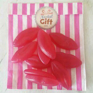 Bonbon lèvre rouge x10