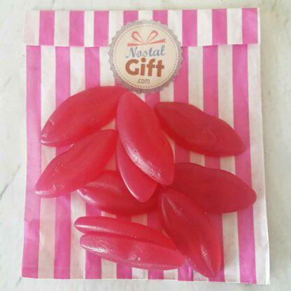 Bonbon lèvres rouge x10