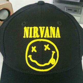 Casquette : Nirvana