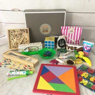 Coffret Cadeau «Jouets rétro de notre enfance »