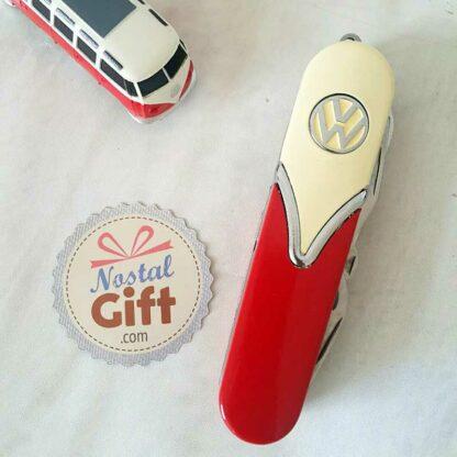 Couteau de poche en métal Volkswagen avec 10 fonctions