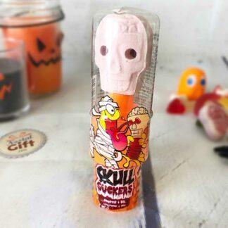 Halloween sucette gel en tête de mort : Skull Suckers