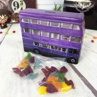 Harry Potter - Tirelire Magicobus avec bonbons Jelly Belly