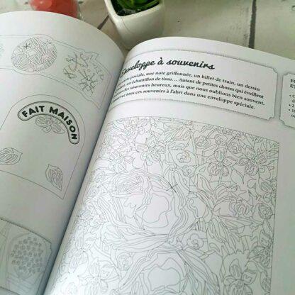 Livre mes créations en papier - Esprit Vintage