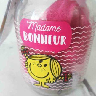 Monsieur Madame -  Mason Jar Accessoires pour cheveux  Mme Bonheur
