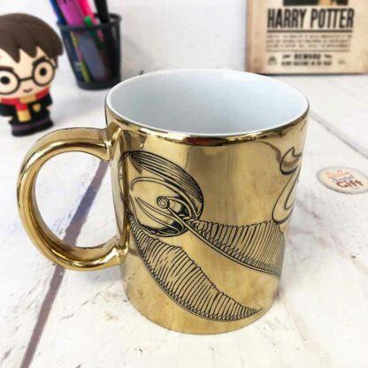 Harry Potter - Mug métallique vif d'or - 315 ml