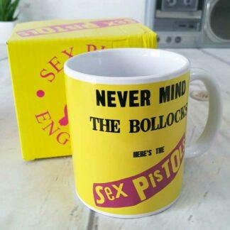Mug jaune - Sex Pistols