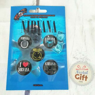 Nirvana Nevermind- Set de 5 badges
