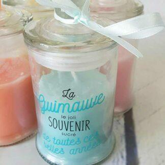 Bougie Parfumée Bonbonnière - Senteur Guimauve