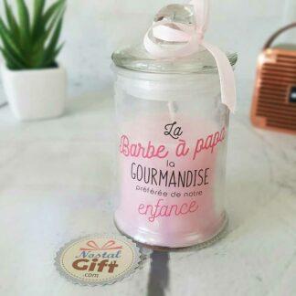 Bougie Parfumée Bonbonnière - Senteur Barbe à Papa