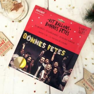 Kit Ballons- Bonnes Fêtes