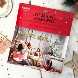 Kit Ballons- Joyeux Noël