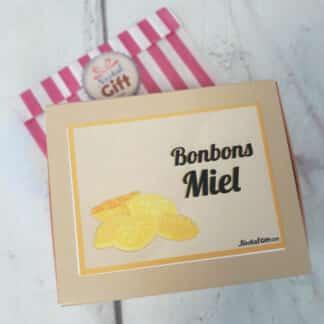 Boîte de bonbons miel - 200g