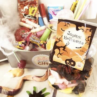 """Coffret Bonbon des années 80 """"Spécial Halloween"""""""