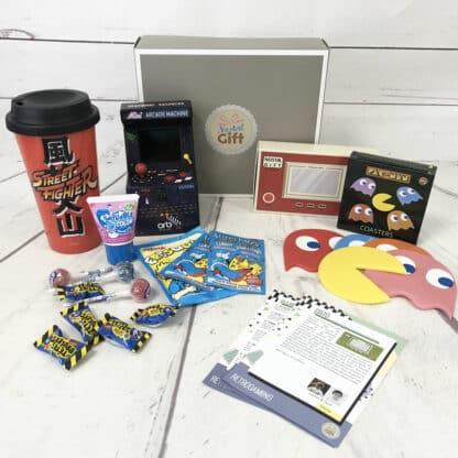 Coffret Cadeau jeux vidéo Arcade 70s (Avec Mini Arcade)