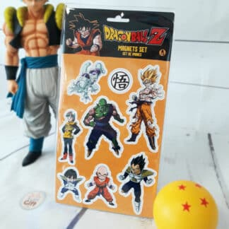 Dragon Ball - Set d'aimants Piccolo Vegeta