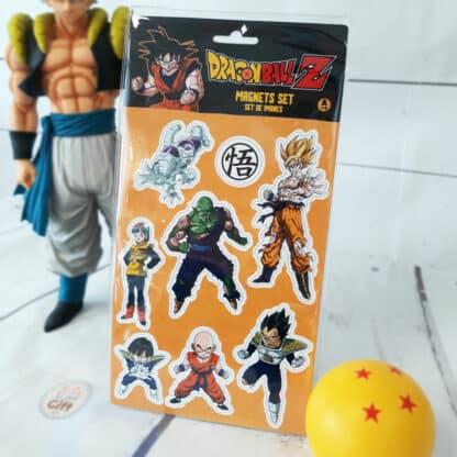 Dragon Ball - Set d'aimants Piccolo Vegeta
