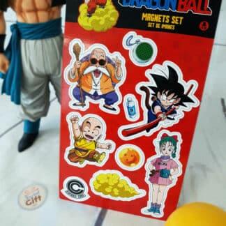 Dragon Ball - Set d'aimants Sangoku