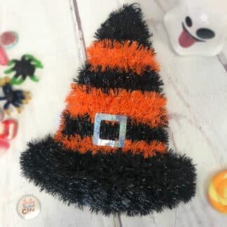 Décoration d'Halloween - Chapeau de sorcière