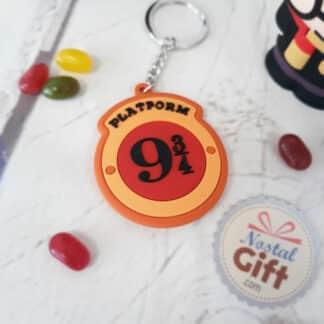 Porte clé Harry Potter - Logo plateform 9 3/4