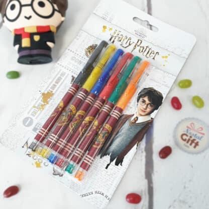Lot de 6 stylos à encre gel - Harry Potter