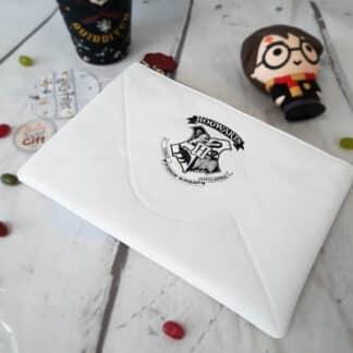 Pochette pour sac Harry Potter- Lettre Poudlard