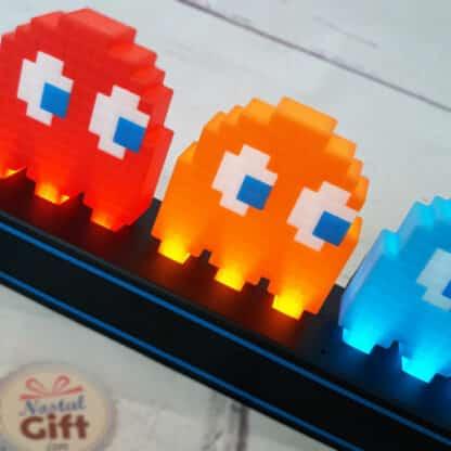 Lampe colorée Pac-Man et Fantômes