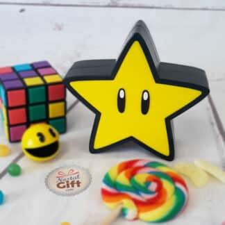 Lampe Super Star  - Etoile sonore Super Mario