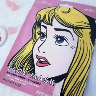 Masque de beauté en tissu pour le visage - Aurore (Disney)