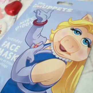 Masque de beauté en tissu pour le visage - Miss Piggy The Muppets