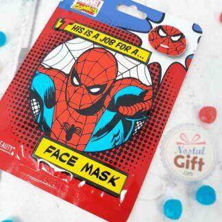 Masque de beauté en tissu pour le visage - Spiderman (Marvel)